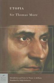 Cover of: Utopia (Barnes & Noble Classics Series) (Barnes & Noble Classics) by Thomas More