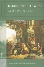 Cover of: Barchester Towers (Barnes & Noble Classics Series) (Barnes & Noble Classics) | Anthony Trollope