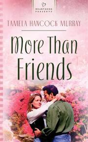 Cover of: More than friends