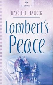Cover of: Lambert's Peace (Heartsong Presents #678)