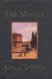 Cover of: The Master  | Colm Toibin