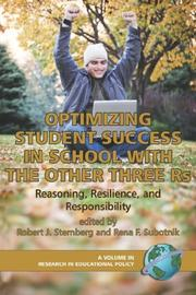 Cover of: Optimizing Student Success in School with the Other Three RS |