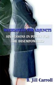 Cover of: Machiavelli for Adjuncts