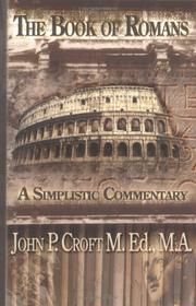 Cover of: The Book of Romans | John P. Croft