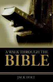 Cover of: A Walk Through the Bible