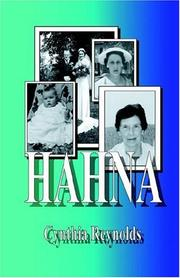 Cover of: Hahna | Cynthia Reynolds