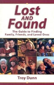 Cover of: Lost and Found