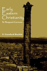 Cover of: Early Eastern Christianity | F, C Burkitt
