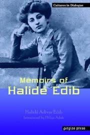 Cover of: Memoirs of Halide Edib (Replica Books)