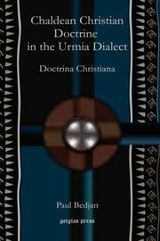 Cover of: Chaldean Christian Doctrine in the Urmia Dialect