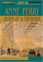 Cover of: Death of a Stranger (William Monk)