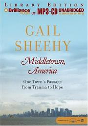 Cover of: Middletown, America: One Town's Passage from Trauma to Hope