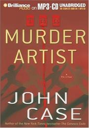 Cover of: Murder Artist, The | John Case