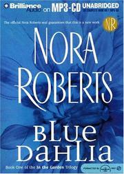 Cover of: Blue Dahlia (In the Garden) by Nora Roberts