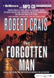 Cover of: Forgotten Man, The (Elvis Cole) | Robert Crais