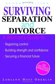 Surviving separation and divorce by Loriann Hoff Oberlin