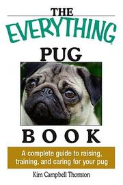 Cover of: The everything pug book