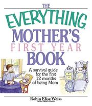 The everything mothers first year book