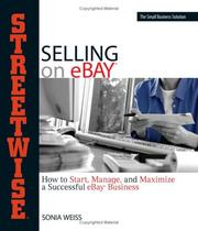 Cover of: Streetwise Selling on eBay