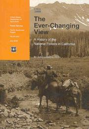 Cover of: The ever-changing view