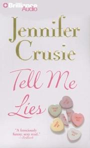 Cover of: Tell Me Lies (Crusie, Jennifer (Spoken Word))