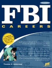 Cover of: FBI careers | Thomas H. Ackerman