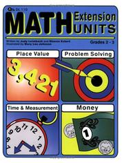 Cover of: Math Extension Units