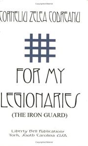 Cover of: For My Legionaries