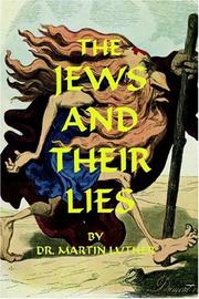 Cover of: The Jews and their lies