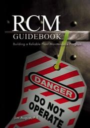 Cover of: RCM guidebook | Jim August