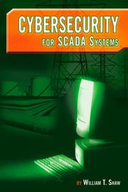 Cover of: Cybersecurity for SCADA Systems