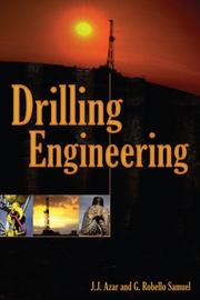 Cover of: Drilling Engineering | J.J. Azar