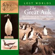 Cover of: The Great Auk | Erol Fuller