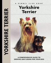 Cover of: Yorkshire Terrier | Rachel Keyes