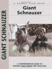 Cover of: Giant Schnauzer (Comprehensive Owners Guide) | Barbara J. Andrews