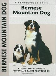 Cover of: Bernese mountain dog | Louise Harper
