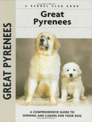 Cover of: Great Pyrenees | Juliette Cunliffe