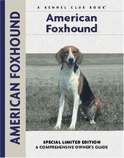Cover of: American Foxhound (Comprehensive Owners Guides)
