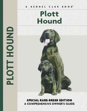 Cover of: Plott Hound (Comprehensive Owners Guides)