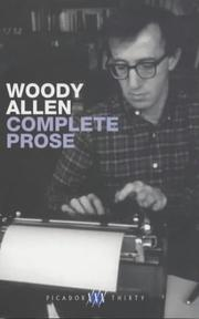 Cover of: The Complete Prose