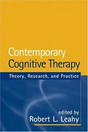 Cover of: Contemporary Cognitive Therapy