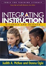 Cover of: Integrating Instruction: Literacy and Science (Tools for Teaching Literacy)