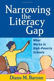 Cover of: Narrowing the Literacy Gap | Diane M. Barone