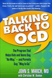 Cover of: Talking Back to OCD | John S. March