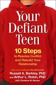 Cover of: Your defiant teen