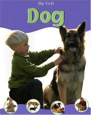 Cover of: My First Dog