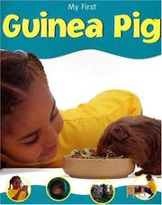 Cover of: My First Guinea Pig