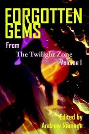 Cover of: Forgotten gems from the twilight zone : volume 1