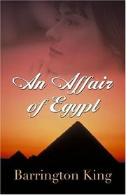 Cover of: An affair of Egypt