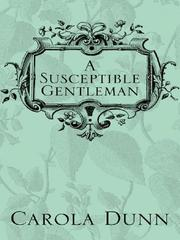Cover of: A susceptible gentleman